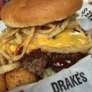 Drakes burger