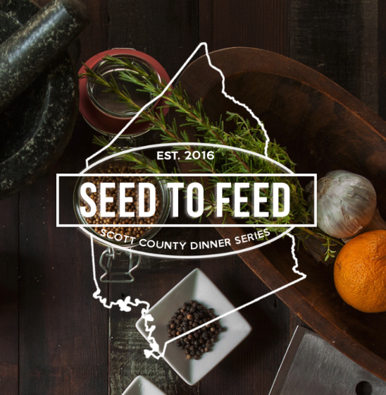 Chef Justin Thompson is at it again with his Seed to Feed Dinner series